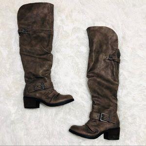 Carlos Santana Over-The-Knee Boots